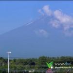 ภูเขาไฟฟูจิ ประเทศญี่ปุ่น
