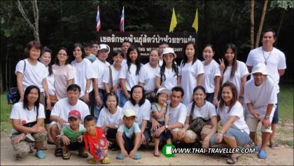 ภาพคาราวานไทยท่องเที่ยวของชาวลำบากลำบนทัวร์ เมื่อปี 2554