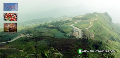 เส้นทางสู่ อุทยานแห่งชาติภูหินร่องกล้า , ภูทับเบิก ขึ้นทางด้าน อ.หล่มเก่า
