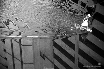 น้ำนองถนน