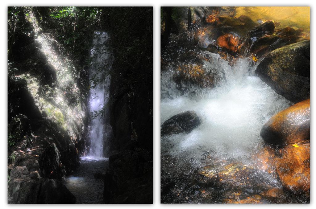 น้ำตกบางแป ในเขตรักษาพันธุ์สัตว์ป่าพระแทว