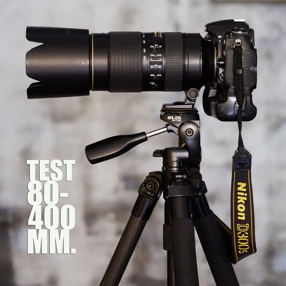 ทดสอบเลนส์ Nikkor 80-400 MM. F.4.5-5.6