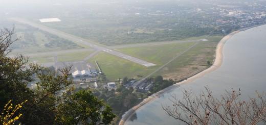 สนามบินกองบิน 5 อ่าวประจวบฯ