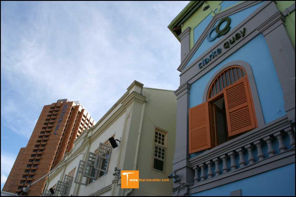 อาคารเก่าที่ไดรับกาปรับปรุง แต่ยังคงสถาปัตยกรรมแบบดั้งเดิมไว้