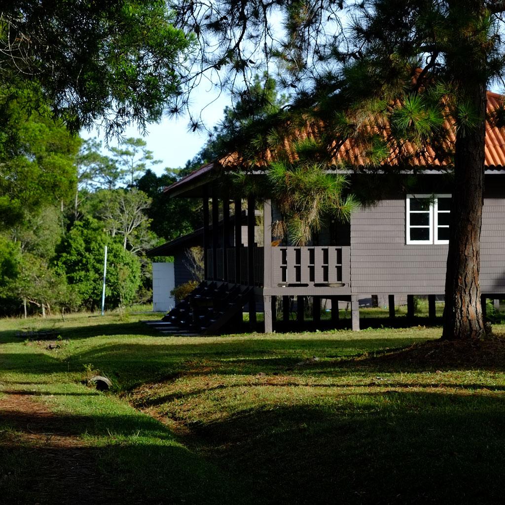 บ้านพักของอุทยานฯ บนลานหลังแป ภูกระดึง