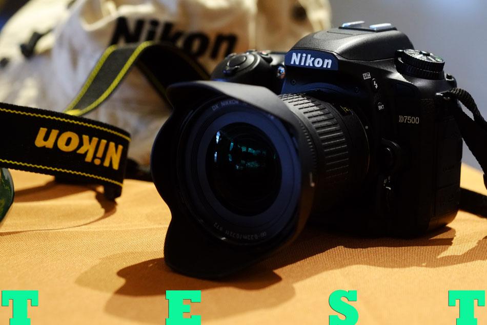 Nikon D7500 เลนส์ 10-20 MM.