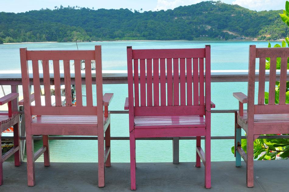 ชั้นสองมองเห็นเวิ้งอ่าวกว้างไกล  | Tan Marina Bay