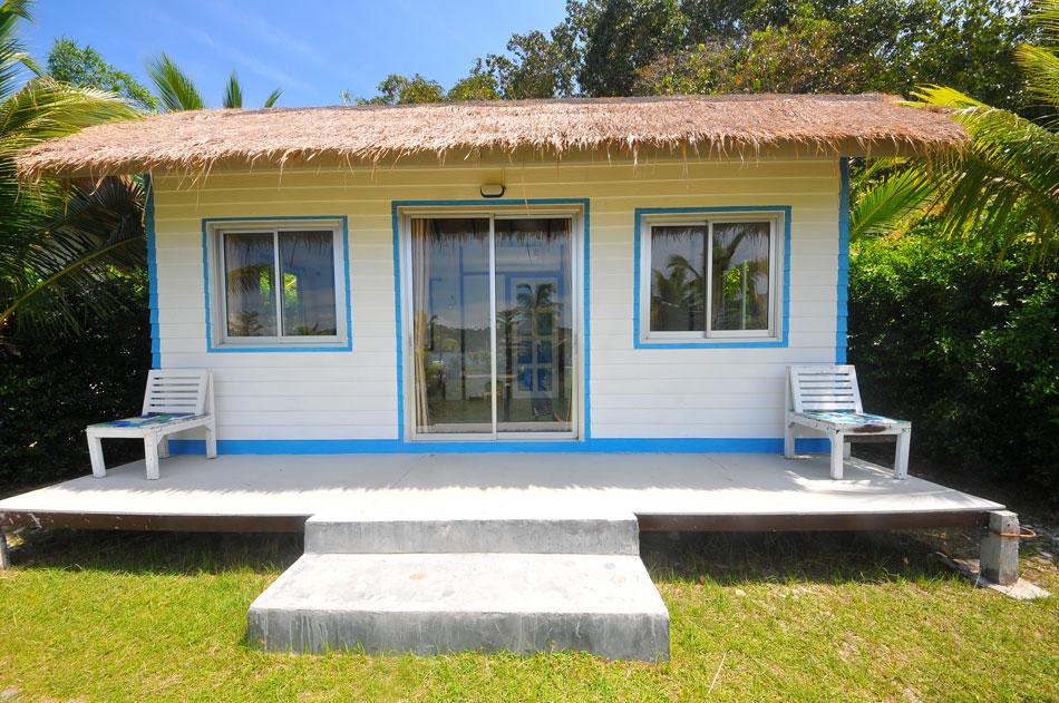 บ้านพัก (ล้อแบบตู้คอนเทนเนอร์) เรียบง่ายไม่ซับซ้อน ราคา 1.500/คืน  | Tan Marina Bay