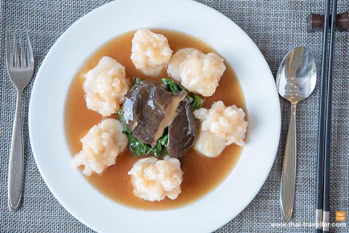 หอยเชลล์ยัดไส้กุ้งเจี๋ยน