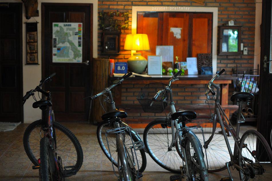 มีจักรยานให้ยืมด้วย | สวัสดีโฮมสเตย์ เมืองเชียงของ