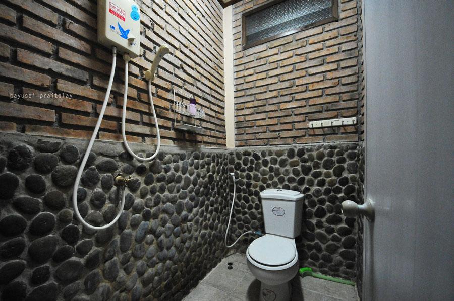 ห้องน้ำส่วนตัว | สวัสดีโฮมสเตย์ เมืองเชียงของ