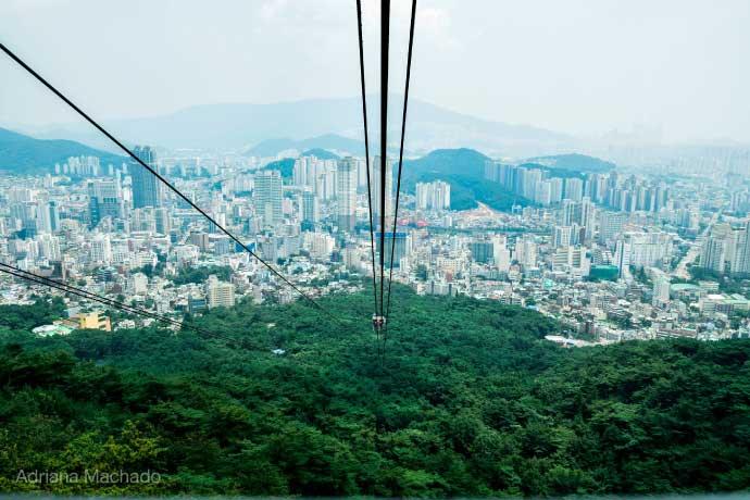 นั่งกระเช้าลอยฟ้า ชมวิวแบบ 360 องศาที่ ปูซาน